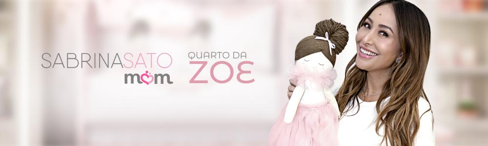 Coleção Bailarina Trapezista - linha Sabrina Sato Mom by Grão de Gente - Quarto da Zoe